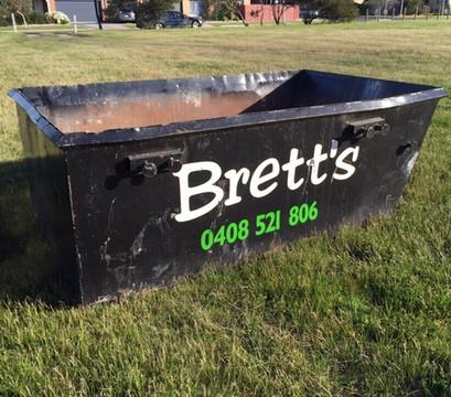 3M³ skip bin - Brett's Bins