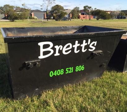 4M³ skip bin - Brett's Bins